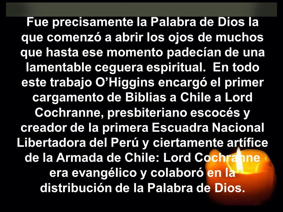 Fue precisamente la Palabra de Dios la que comenzó a abrir los ojos de muchos que hasta ese momento padecían de una lamentable ceguera espiritual.