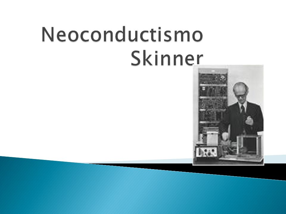 Neoconductismo Skinner