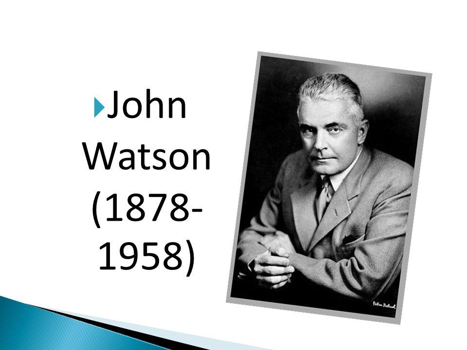 John Watson (1878- 1958)