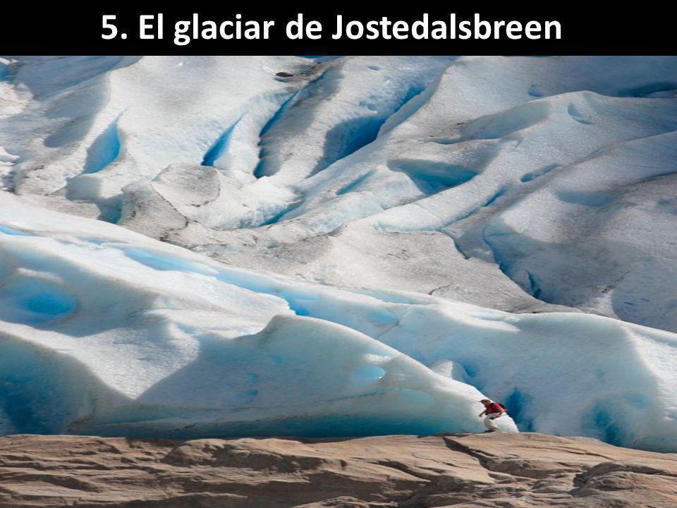5. El glaciar de Jostedalsbreen