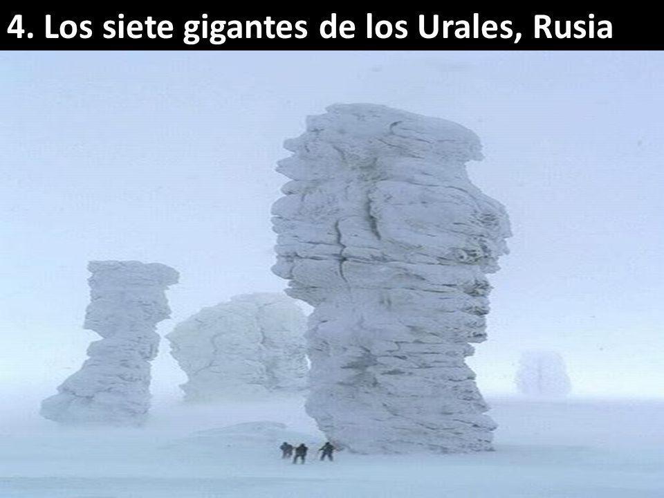 4. Los siete gigantes de los Urales, Rusia
