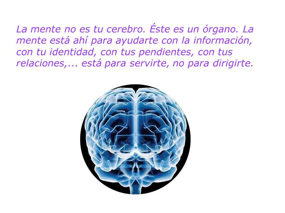 La mente no es tu cerebro. Éste es un órgano