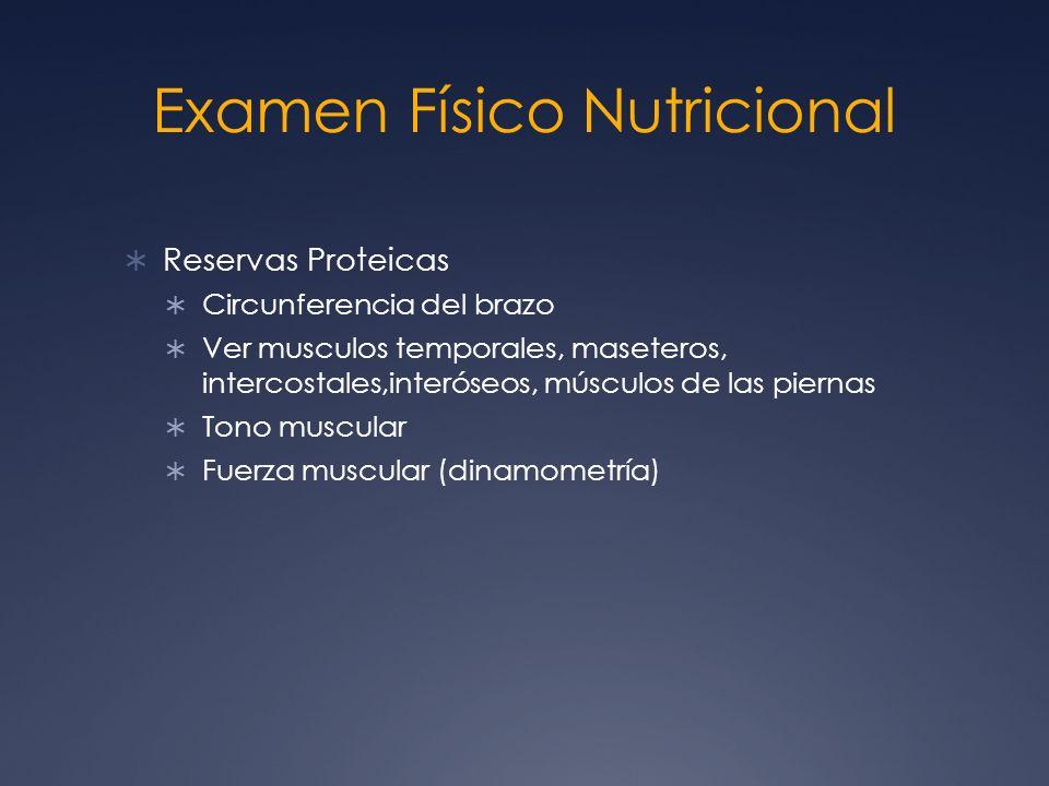 Examen Físico Nutricional