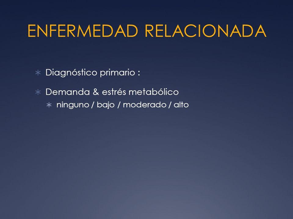 ENFERMEDAD RELACIONADA