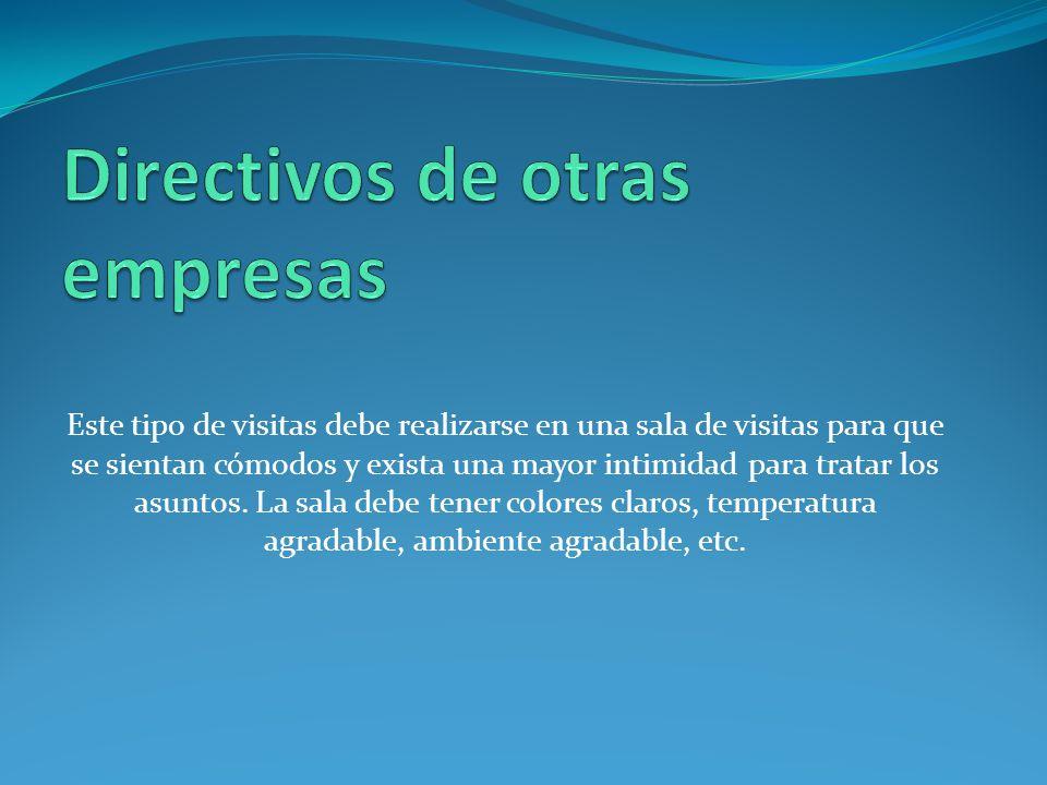 Directivos de otras empresas