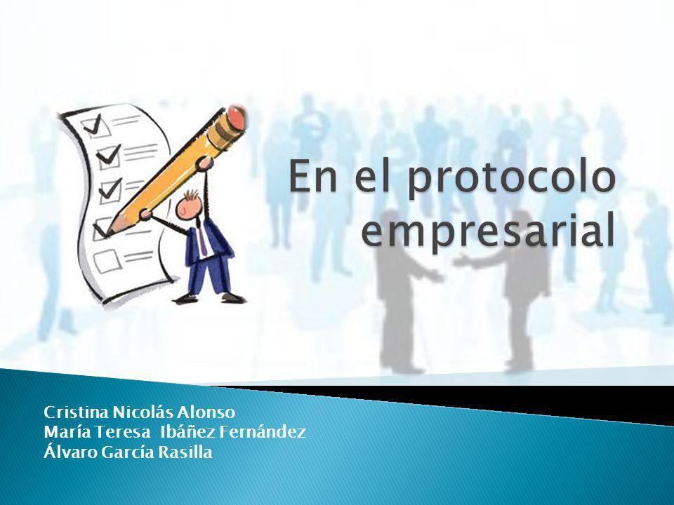 En el protocolo empresarial