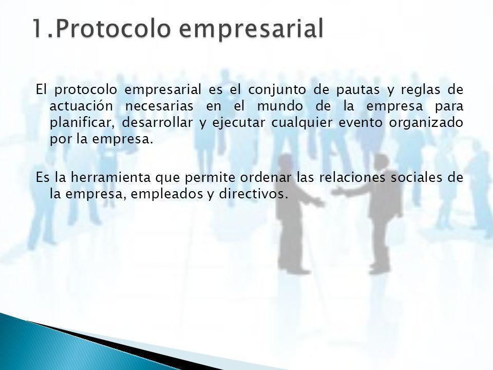 1.Protocolo empresarial