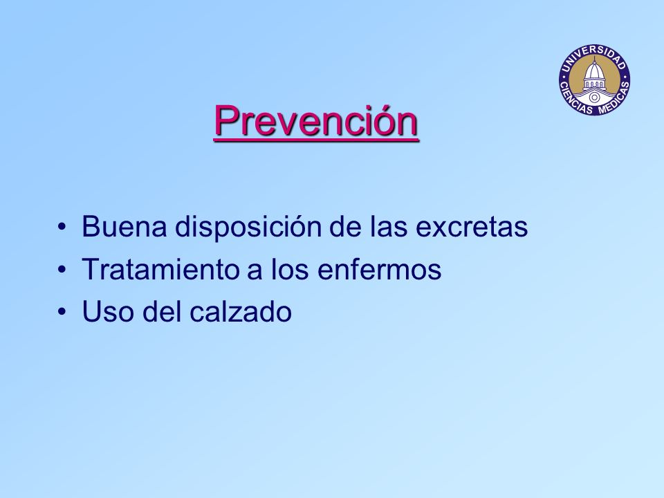 Prevención Buena disposición de las excretas