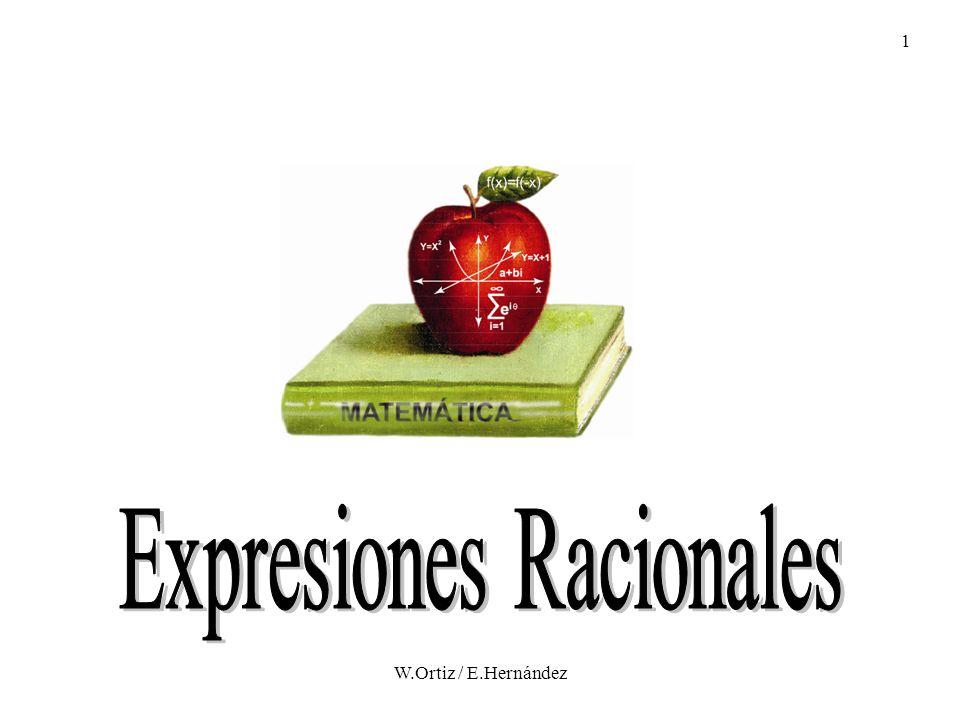 Expresiones Racionales