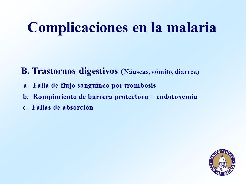 Complicaciones en la malaria