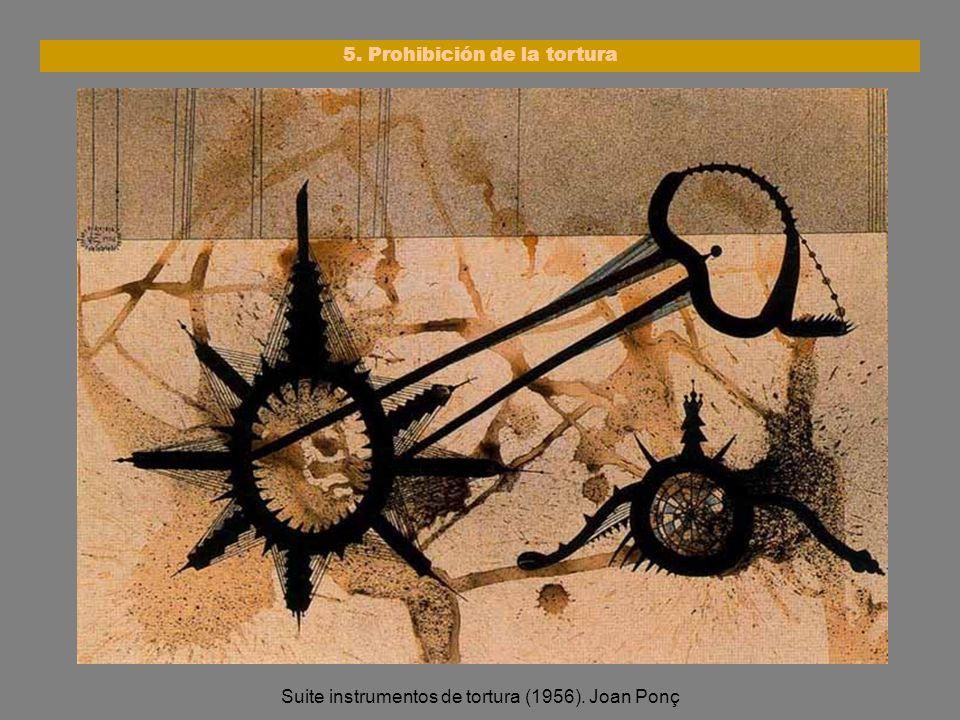5. Prohibición de la tortura
