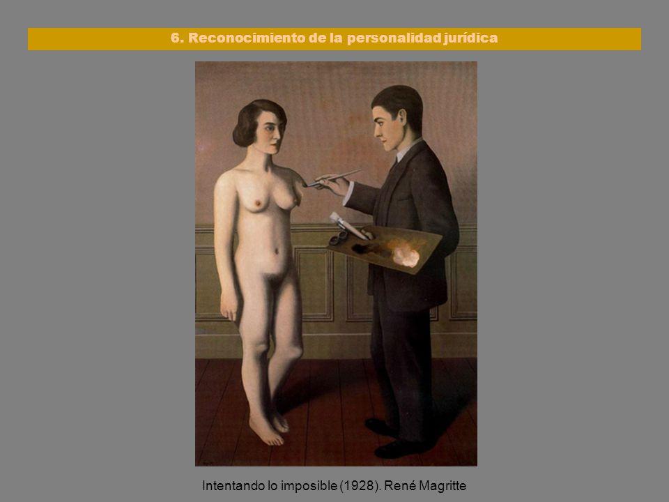 6. Reconocimiento de la personalidad jurídica