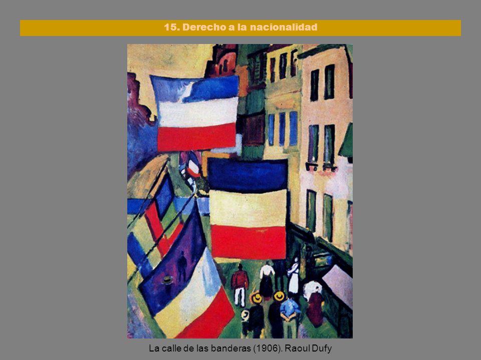 15. Derecho a la nacionalidad