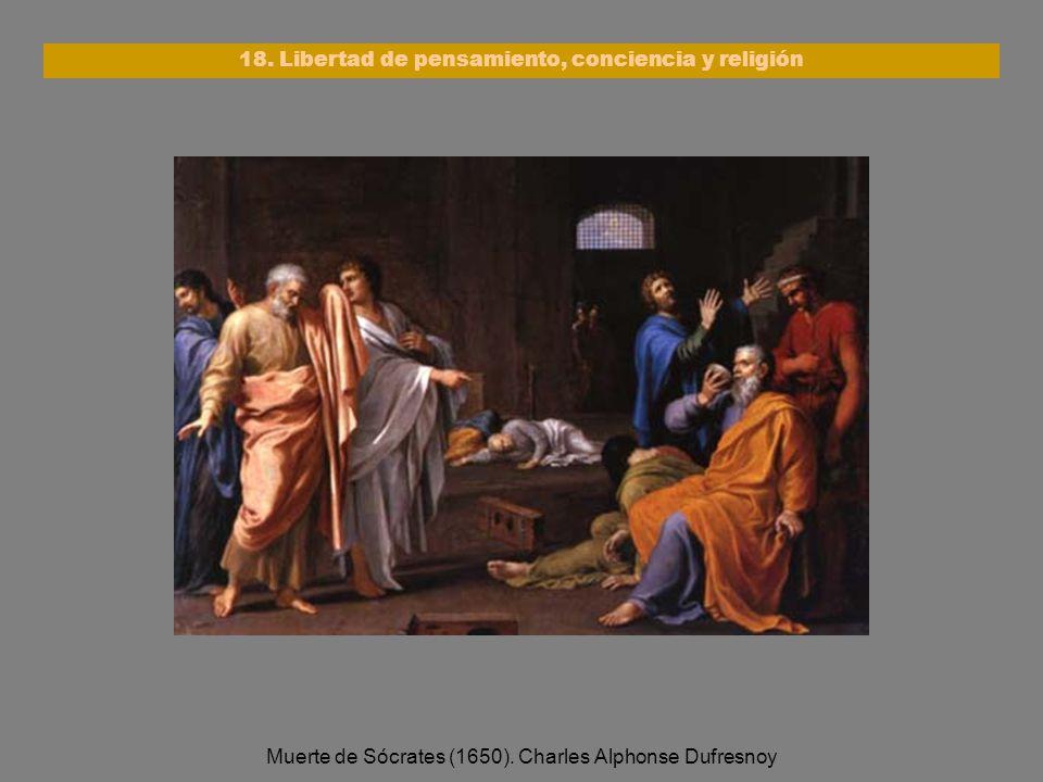18. Libertad de pensamiento, conciencia y religión