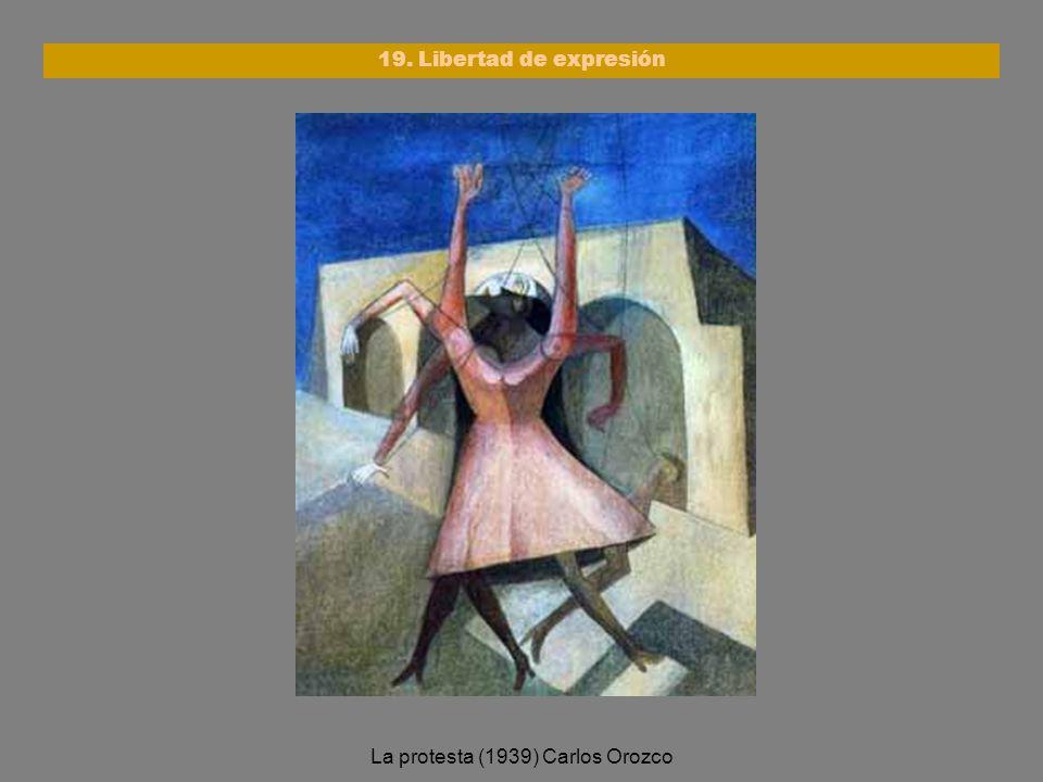 La protesta (1939) Carlos Orozco