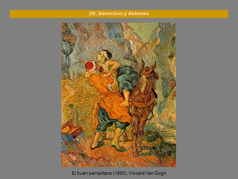 El buen samaritano (1890). Vincent Van Gogh