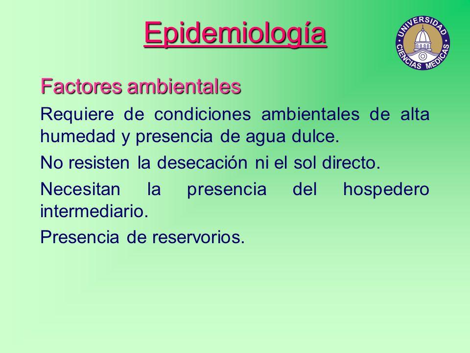 Epidemiología Factores ambientales