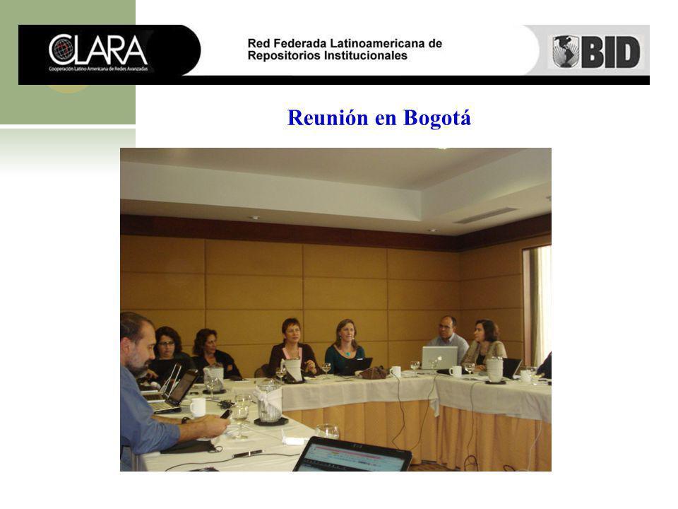 Reunión en Bogotá