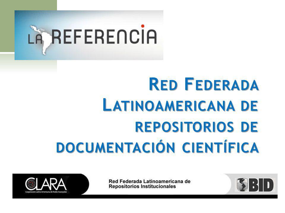 Red Federada Latinoamericana de repositorios de documentación científica
