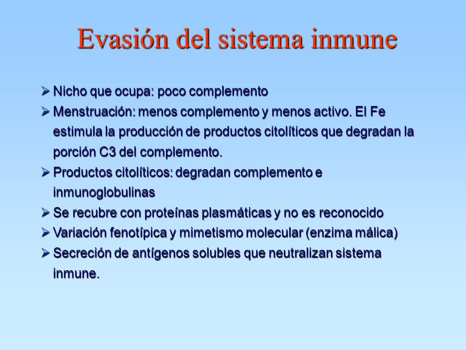 Evasión del sistema inmune