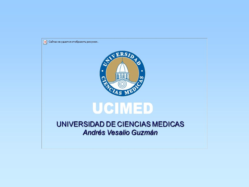 UNIVERSIDAD DE CIENCIAS MEDICAS