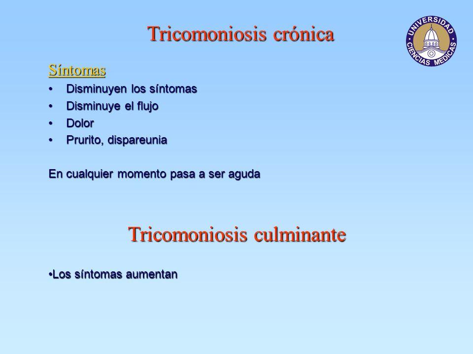 Tricomoniosis crónica