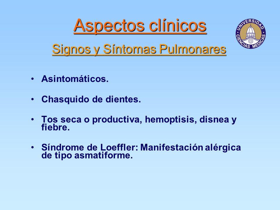 Signos y Síntomas Pulmonares