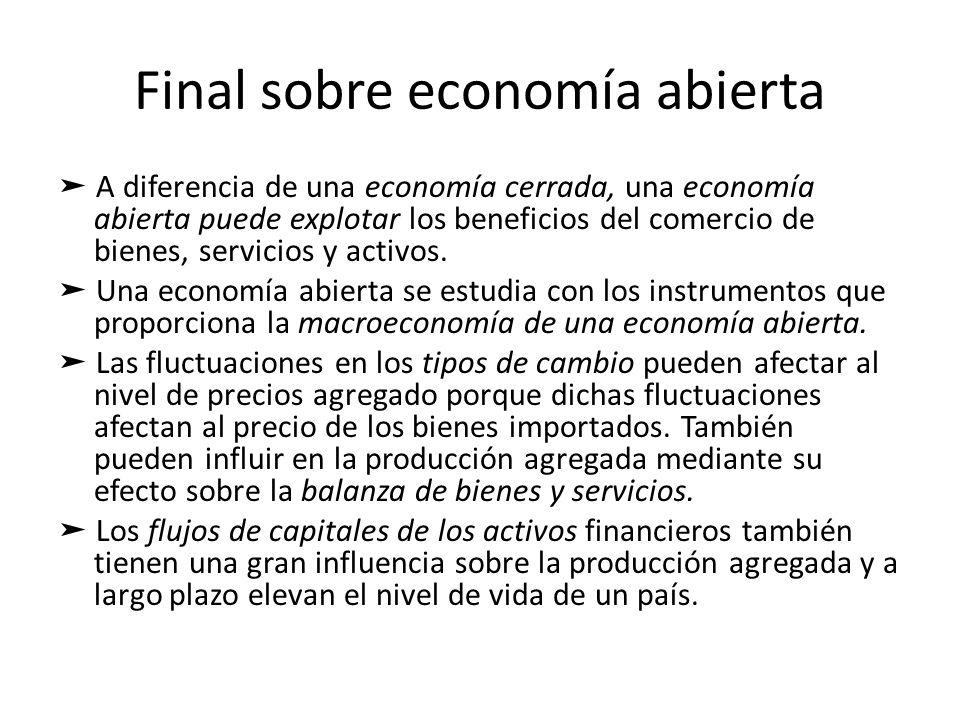 Final sobre economía abierta