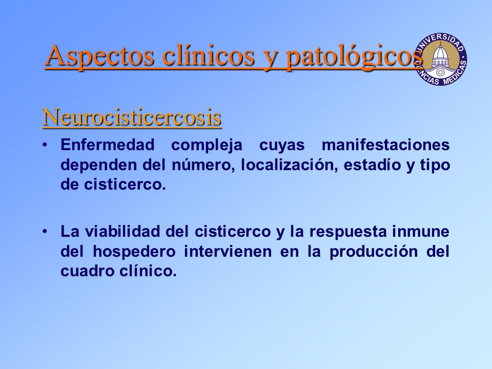Aspectos clínicos y patológicos