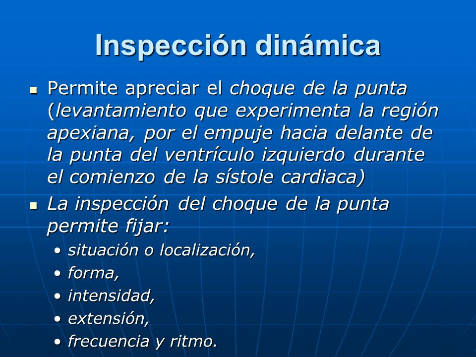 Inspección dinámica