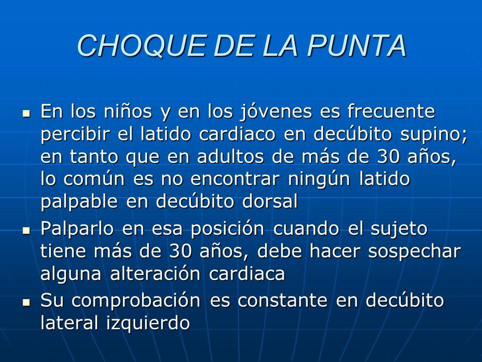 CHOQUE DE LA PUNTA