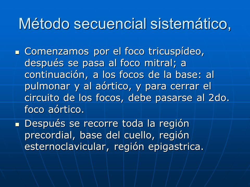 Método secuencial sistemático,