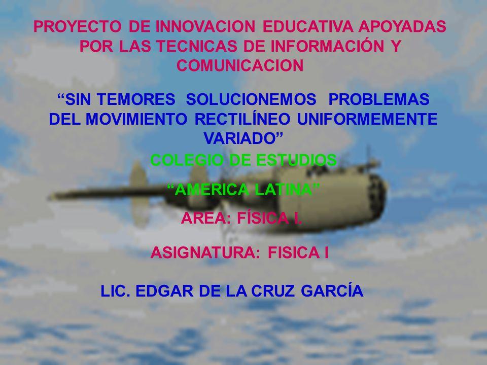 LIC. EDGAR DE LA CRUZ GARCÍA