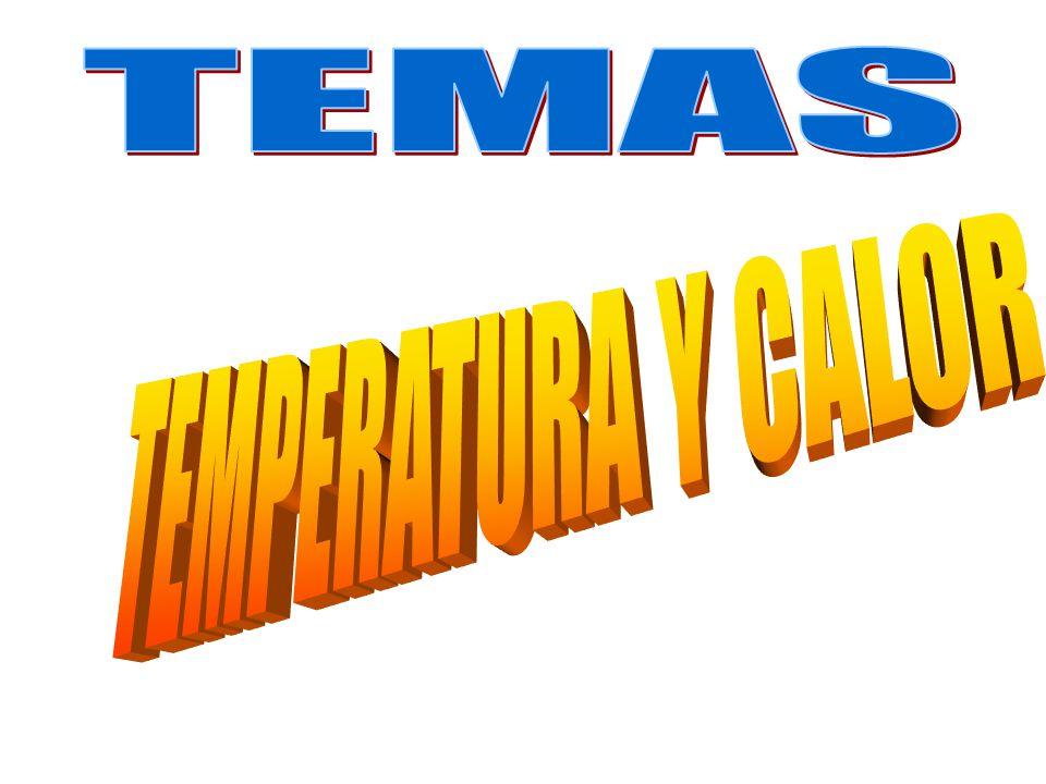 TEMAS TEMPERATURA Y CALOR