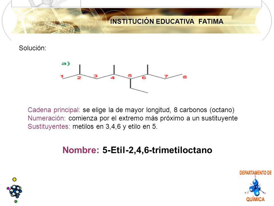Nombre: 5-Etil-2,4,6-trimetiloctano