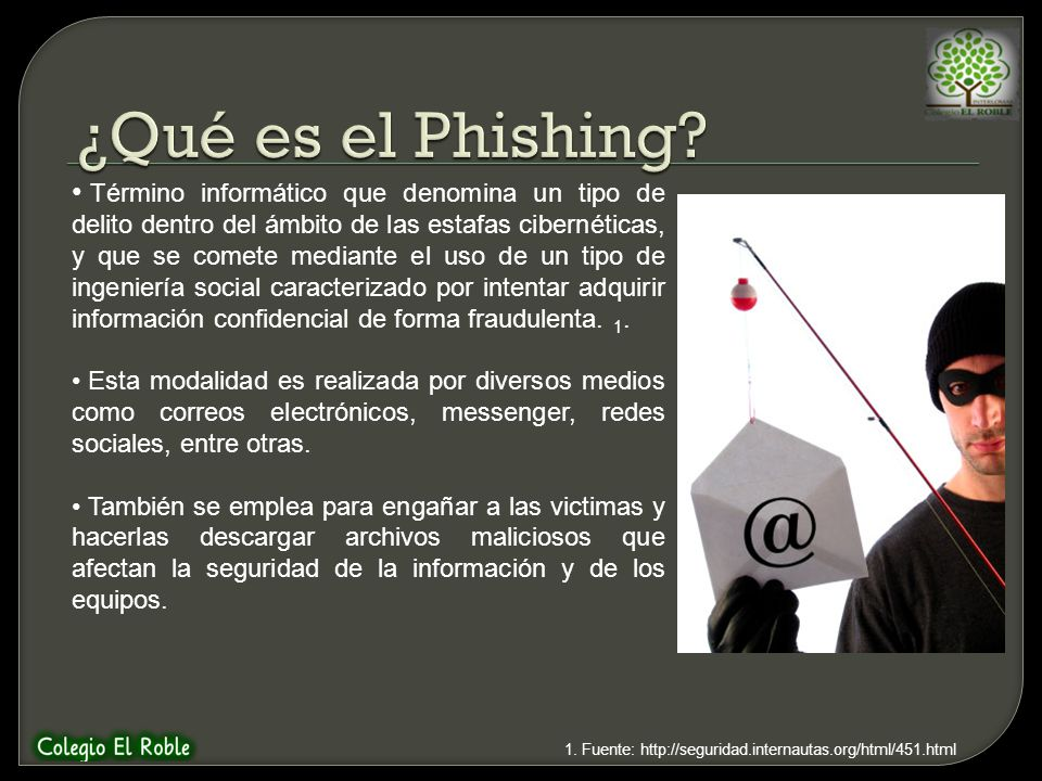 ¿Qué es el Phishing