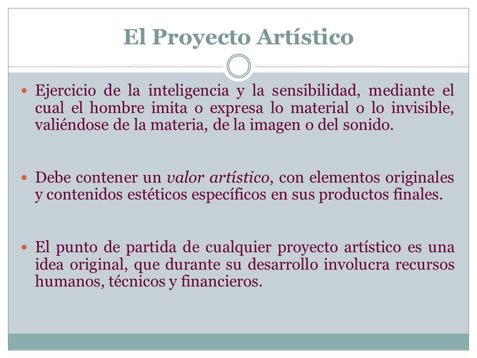 El Proyecto Artístico