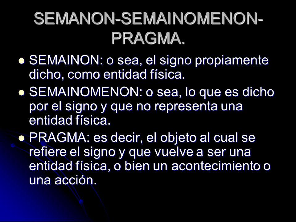 SEMANON-SEMAINOMENON-PRAGMA.