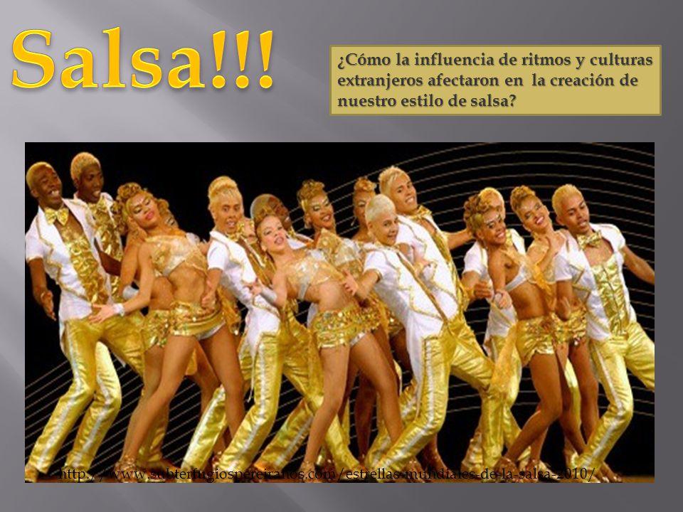 Salsa!!! ¿Cómo la influencia de ritmos y culturas extranjeros afectaron en la creación de nuestro estilo de salsa