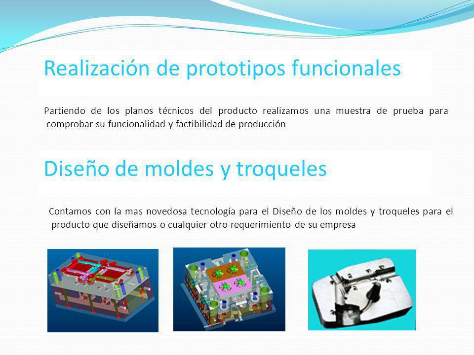 Realización de prototipos funcionales