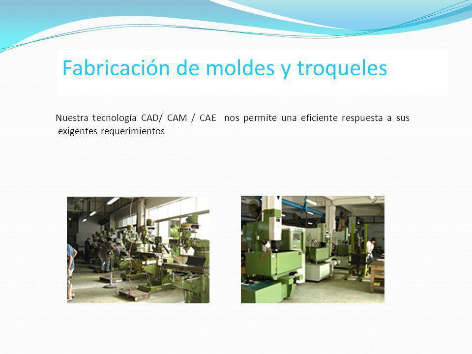 Fabricación de moldes y troqueles