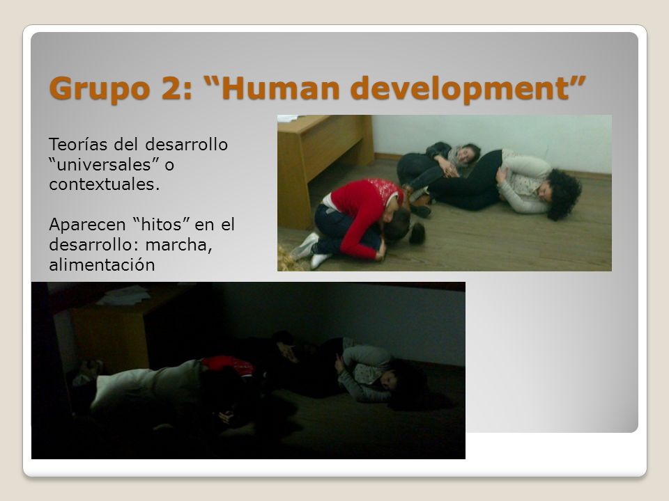 Grupo 2: Human development