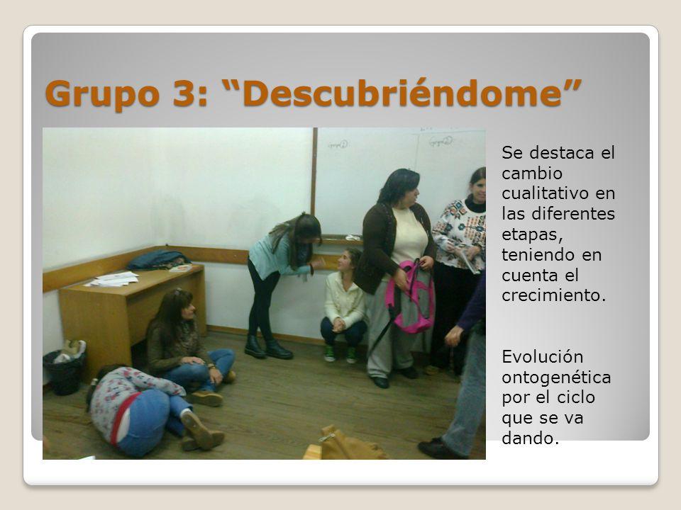 Grupo 3: Descubriéndome