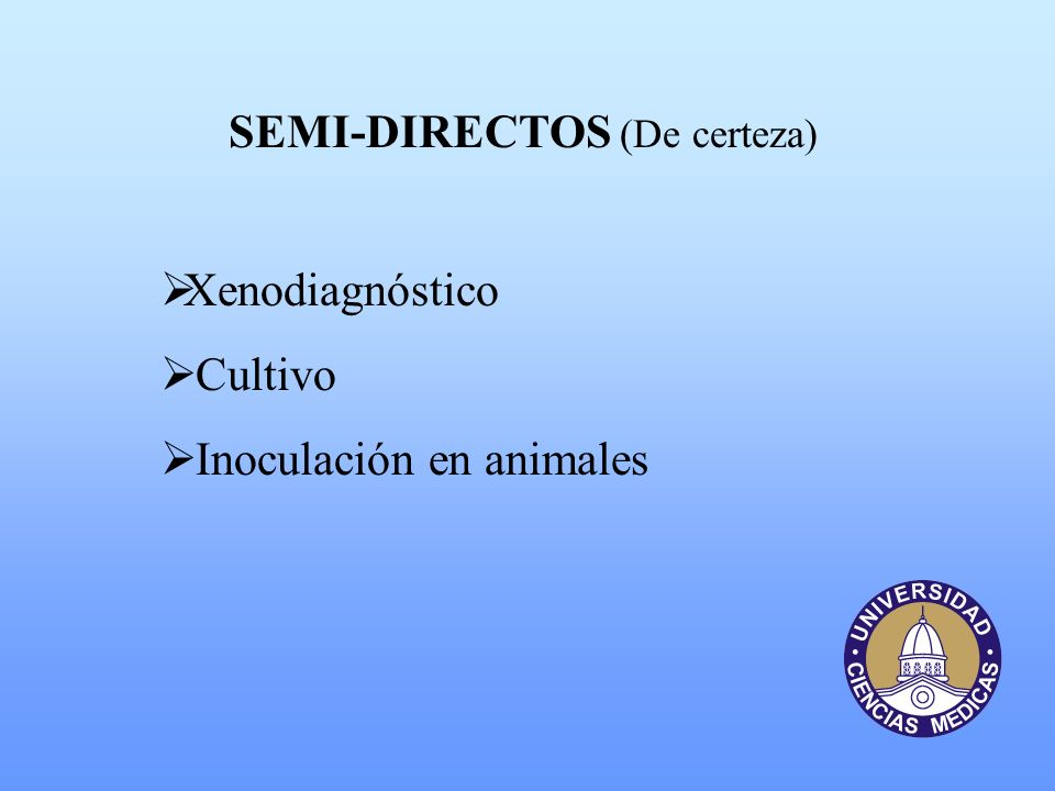 SEMI-DIRECTOS (De certeza)