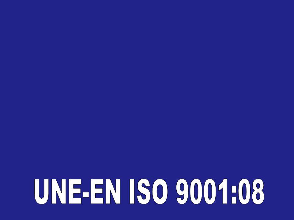 UNE-EN ISO 9001:08