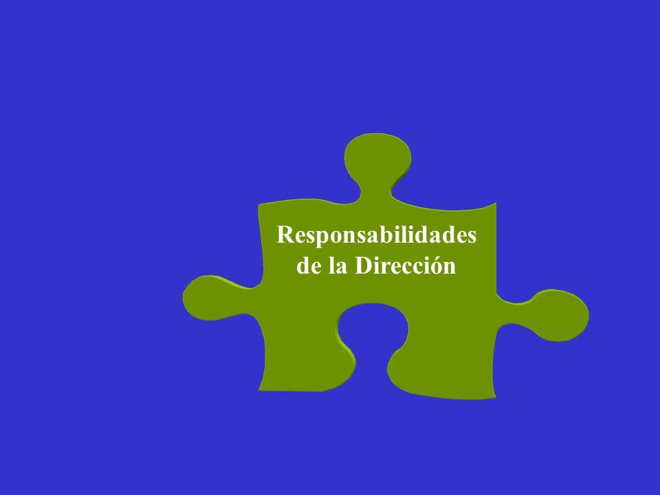 Responsabilidades de la Dirección