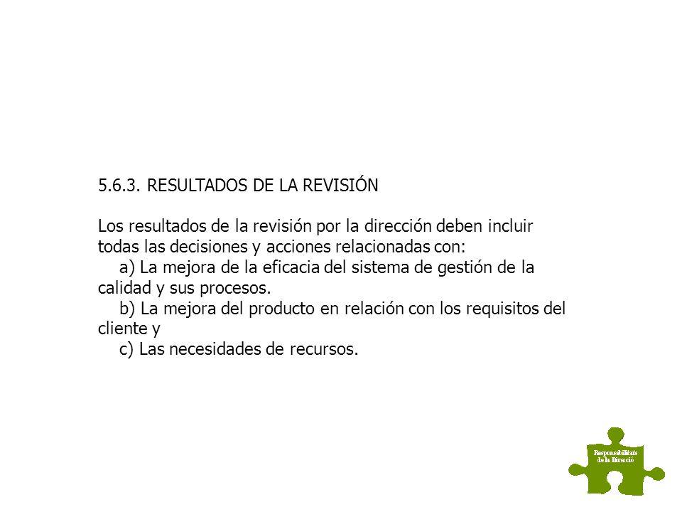 5.6.3. RESULTADOS DE LA REVISIÓN