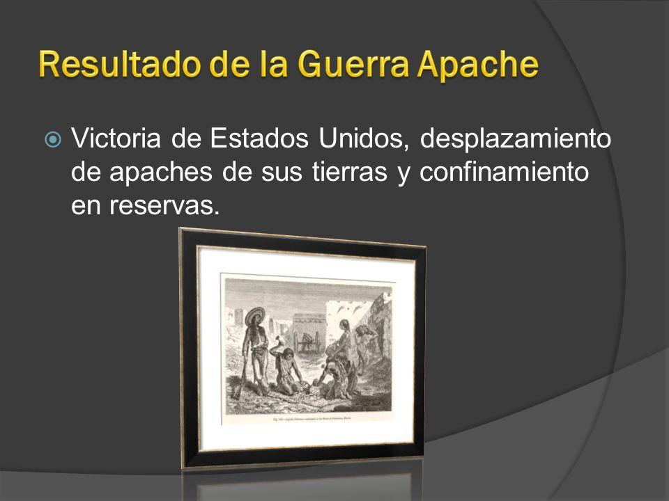 Resultado de la Guerra Apache