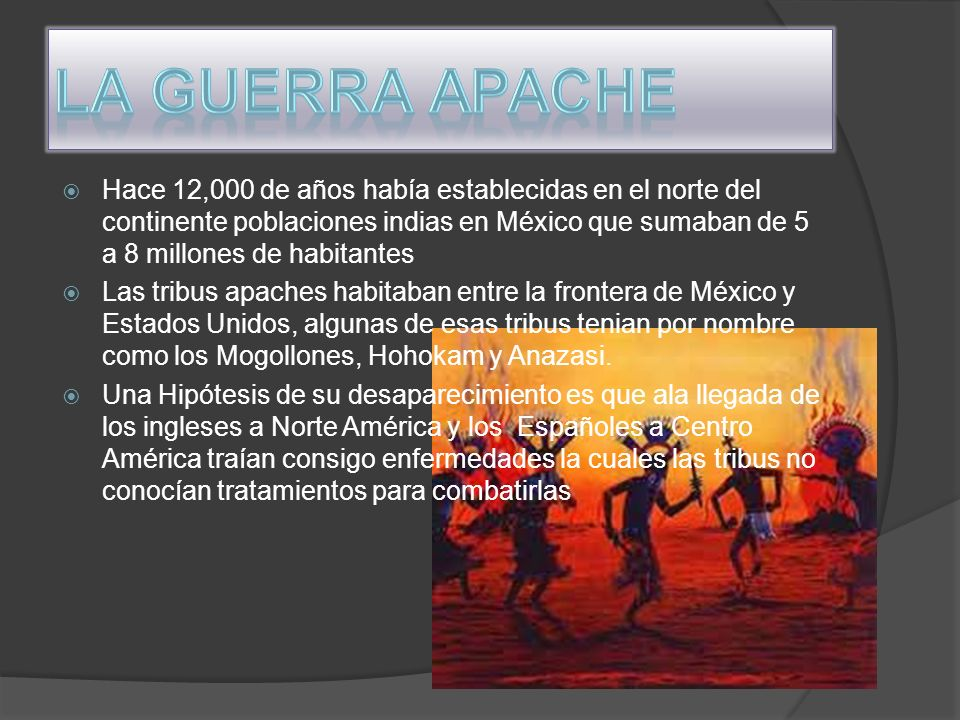 La guerra Apache