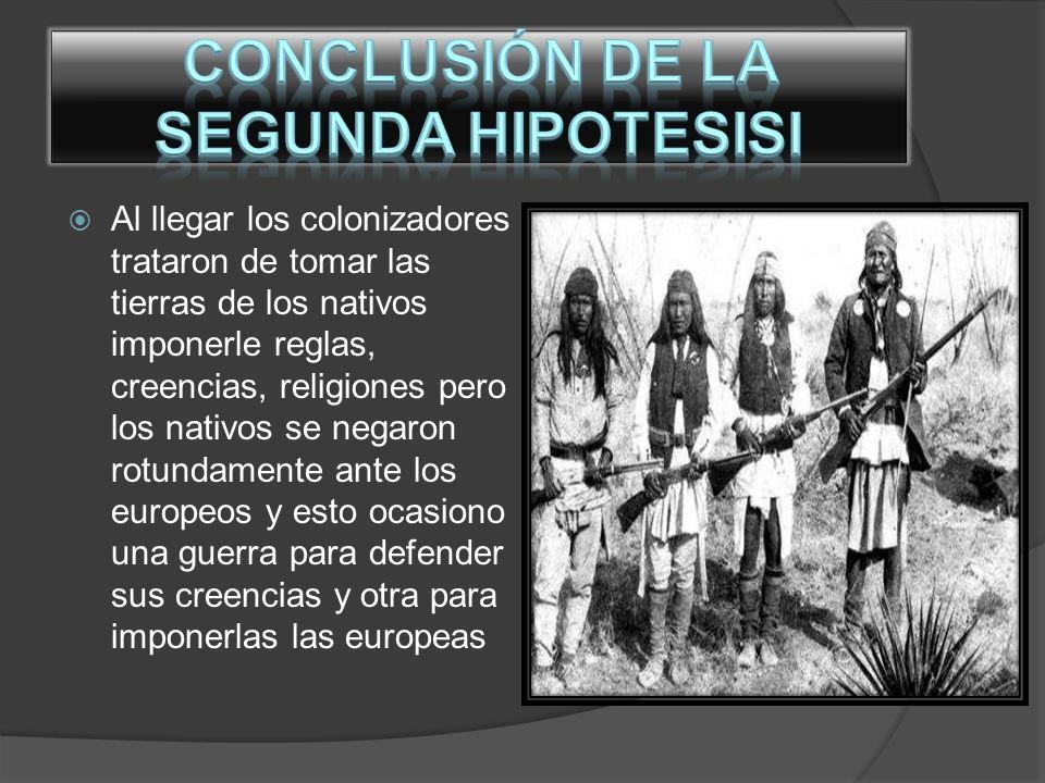 Conclusión de la segunda Hipotesisi